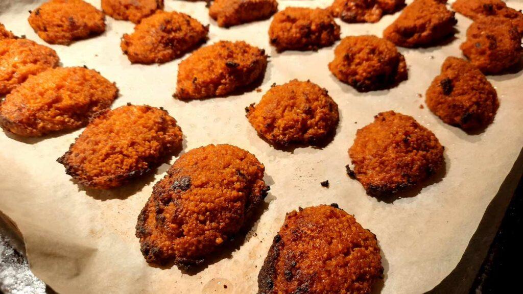 Couscous nugget snack